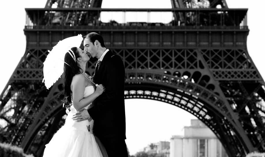 Wedding photographer destination. Reportaje de boda en París.
